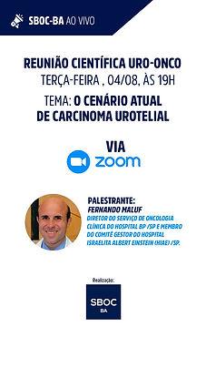O Cenário Atual de Carcinoma Urotelial