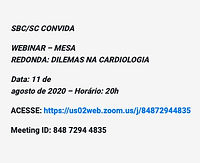 Mesa Redonda: Dilemas na Cardiologia