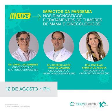 Impactos da Pandemia nos Diagnósticos e Tratamentos de Tumores de Mama e Ginecológicos