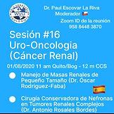 Sesión #16 Uro-Oncologia (Cáncer Renal)