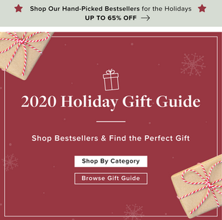 2020 Holiday Gift Guide Campaign