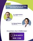 Teranóstica Baseada em PET PSMA para Câncer de Próstata