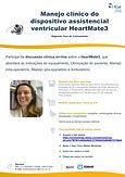 Manejo clínico do dispositivo assistencial ventricular HeartMate3