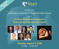 Cardiac Disease in Pregnancy. How can we improve outcomes?