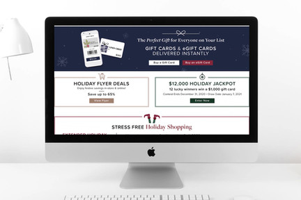 2020 Holiday Gift Guide Landing Page