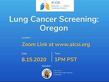 Lung Cancer Screening: Oregon