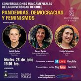 Pandemias, Democracias y Feminismos