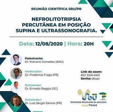 Nefrolitotripsia Percutânea em Posição Supina e Ultrassonografia