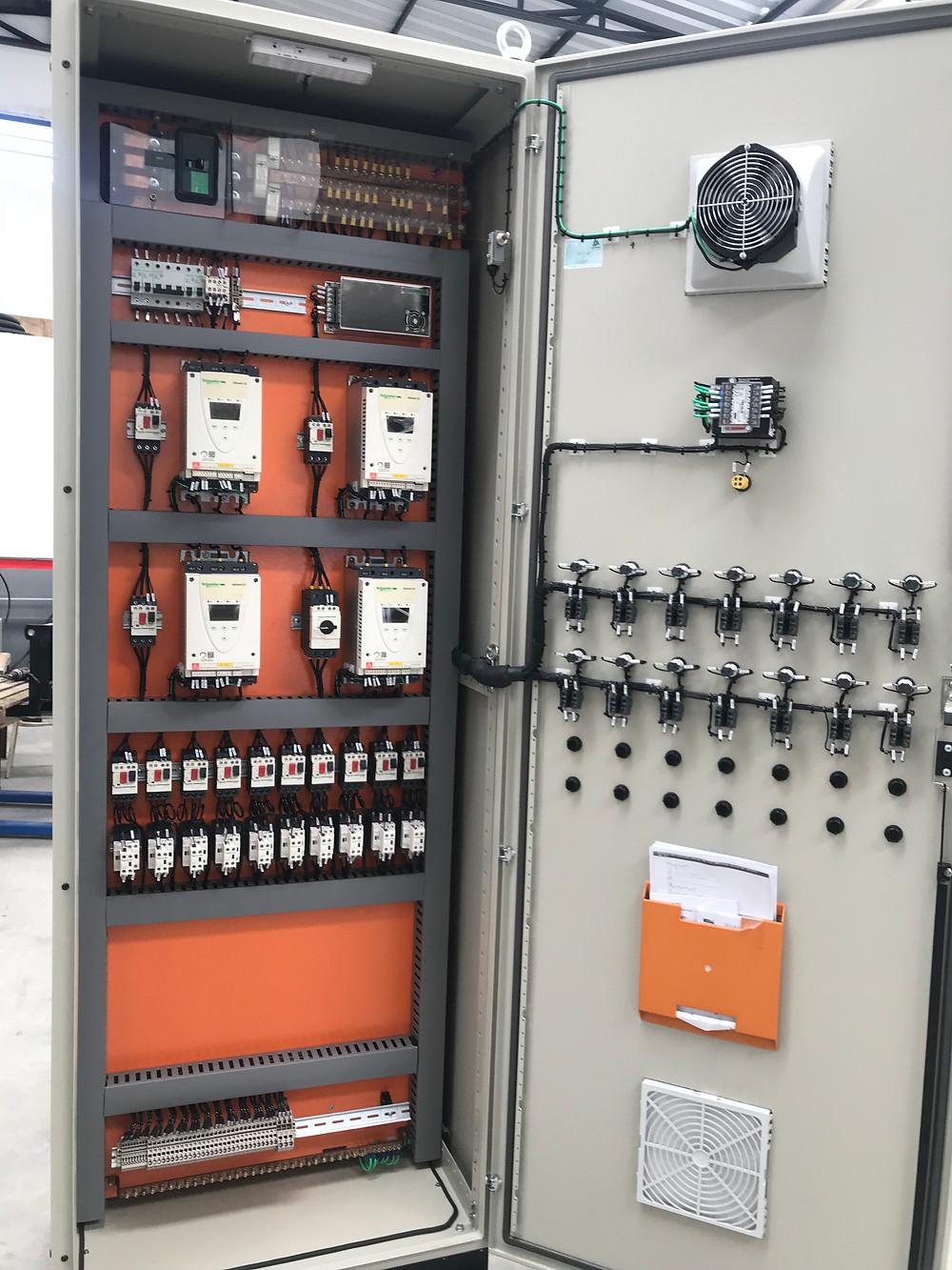 Painel elétrico fabricado