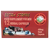 extra strong herbal capsules 450mg - 12p