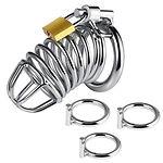 utimi triple chastity cage cock ring kit