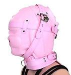 sensory deprivation locking hood - princess pink.jpg