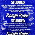 lifestyles rough rider studded lubricate