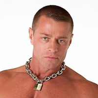 alpha big dog collar high polish finish.