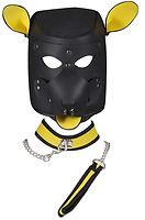 feigu unisex costume dog play mask with