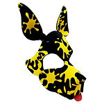 wruff stuff splatter patterned pup hood
