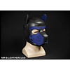 mr s leather neoprene puppy hood - navy.