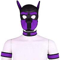 neoprene custom hood mask collar choker