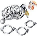 utimi male chastity cage with catheter plug.jpg