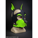 mr s leather neo woof head harness - lim