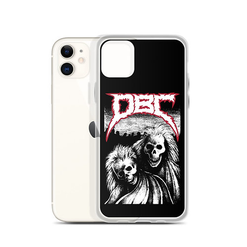 Laughing Skeletons iPhone Case