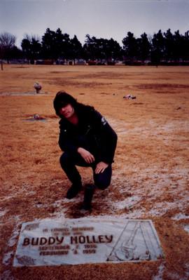 Eddie Buddy Holly Lubbock, Texas 1990