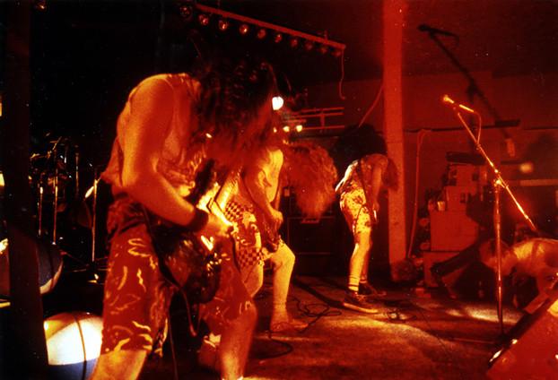 DBC Live at Black Lite 'Beach Party', 1988