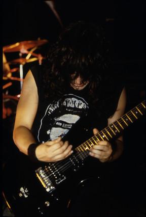 Eddie Live at Black Lite 1987