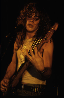 Phil Live at Black Lite 1987