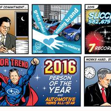 Subaru Comic Strip