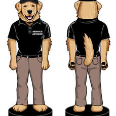 Subaru Dog Bobblehead