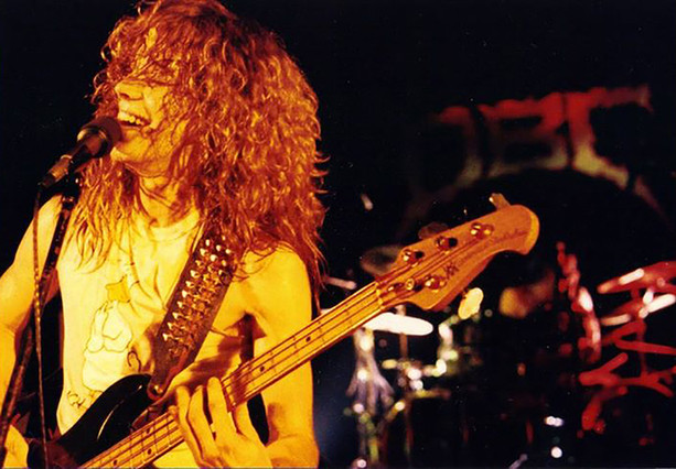 Phil Live at the Black Lite 1987