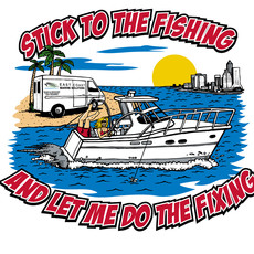 Stick to the Fishing