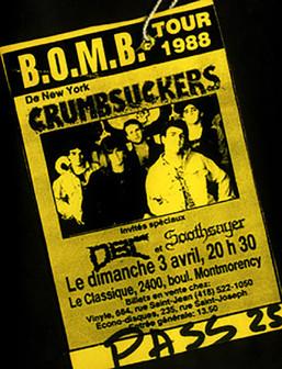 Crumbsuckers Pass