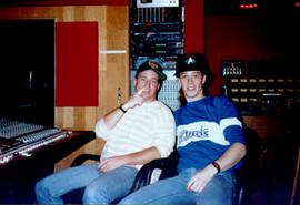 Garth & Phil at Amigo Studio in California
