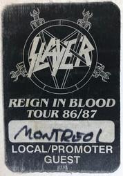 Slayer Pass 1986