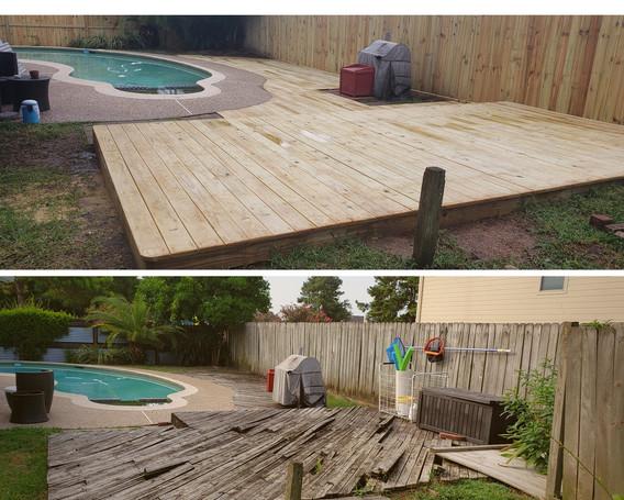 Backyard Transformation!