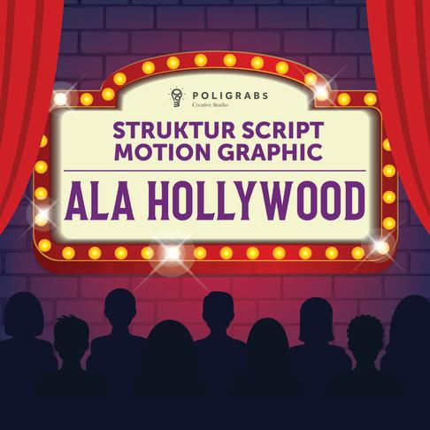 Struktur Script Motion Graphic ala Hollywood
