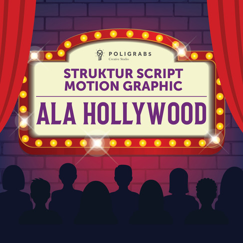 Struktur Script Motion Graphic ala Hollywood
