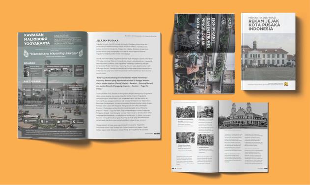 Annual report book Rekam Jejak Kota Pusa