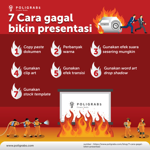 7 Cara Gagal Bikin Presentasi