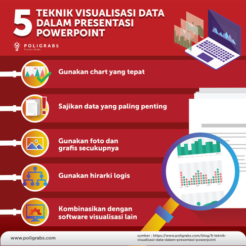 5 Teknik Visualisasi Data dalam Presentasi Powerpoint
