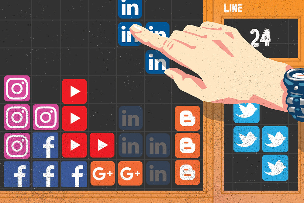 Poligrabs: social media management is a puzzle of strategy
