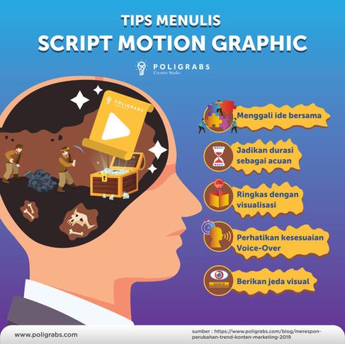 Script Writing : Menggali cerita bersama untuk motion graphic explainer