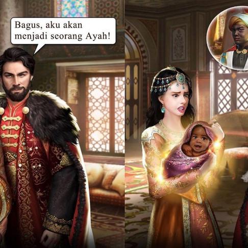 Belajar Microcontent dari Istri Sultan yang sedang Hamil