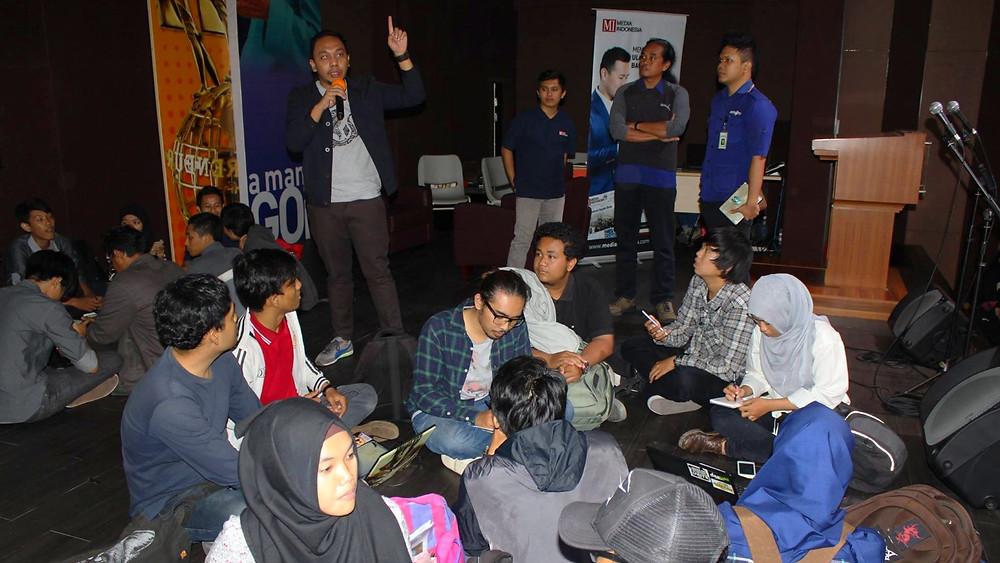 Poligrabs, Media Indonesia, Metro TV