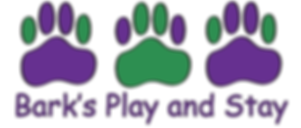 Bark's Play and Stay Logo