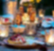 candle ligh dinner