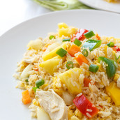 Who doesn't like Pineapple Fried Rice with a Twist