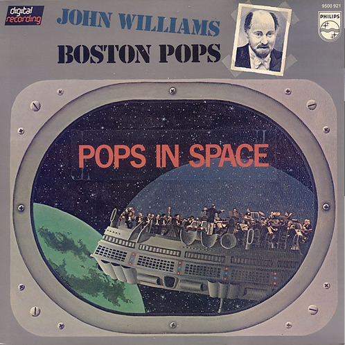 John Williams  And The Boston Pops – Pops In Space
